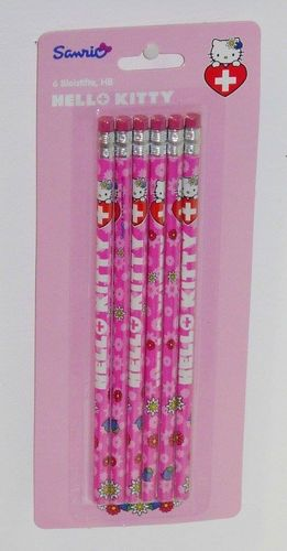 6er Pack Bleistifte von Hello Kitty