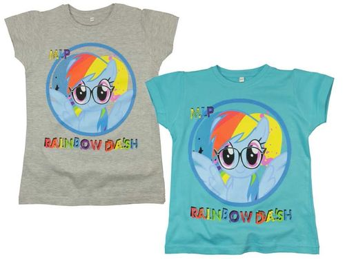 T-Shirts von My little Pony mit Rainbow Dash