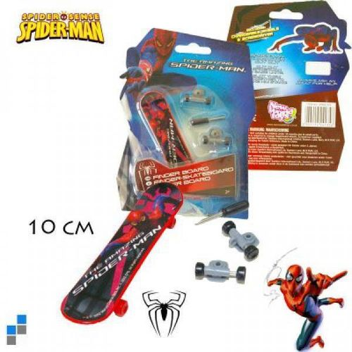 Fingerskateboard v. Spiderman
