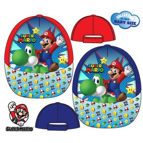 Baseball-Cappies von Super Mario