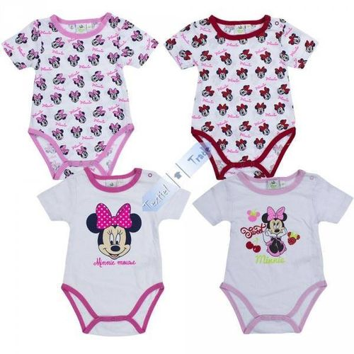 Minnie Maus Bodies im Doppelpack