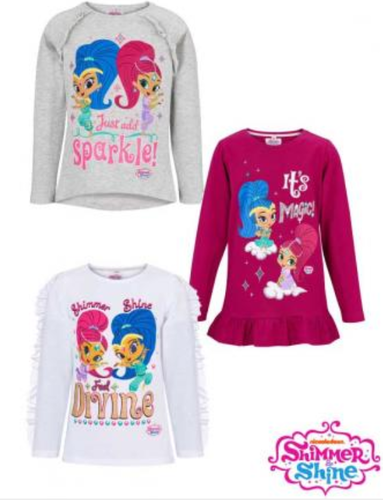 LA-Shirts mit Shimmer and Shine
