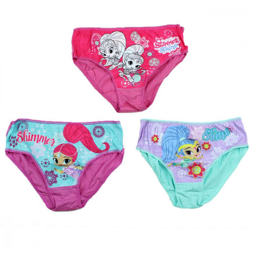Slips von Shimmer and Shine im 3er Pack