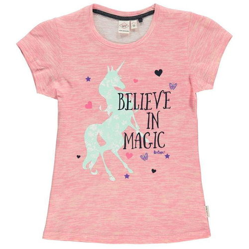 "T-Shirt von Lee Cooper ""Believe in Magic"""
