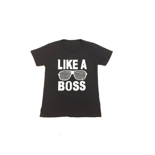 "T-Shirt ""Like a Boss"""
